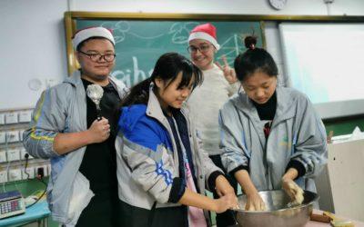 In der chinesischen Weihnachtsbäckerei